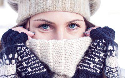 El frío y los ojos